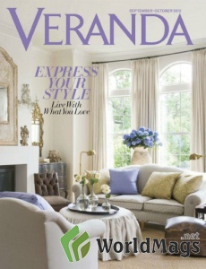 Cover from Veranda magazine