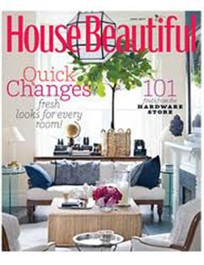 Magazine cover for House Beautiful