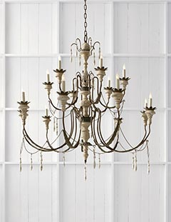 photo of percival chandelier