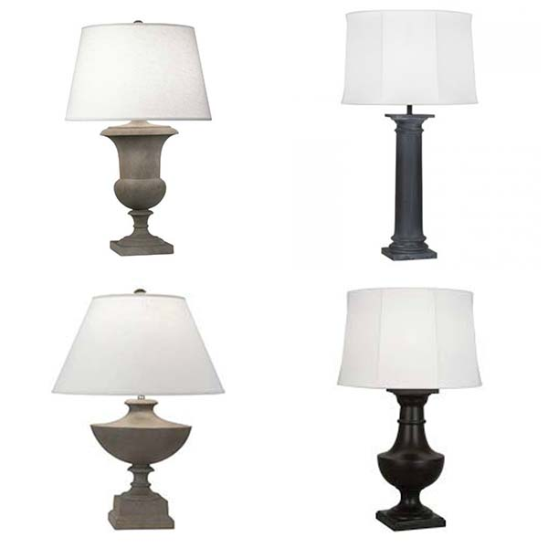 Outdoor Rated Table Lamps From Robert Abbey