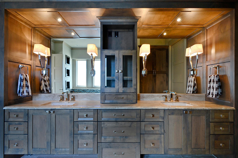 Home built by Summit Builders, Interior Design by Interior Selections-Austin.
