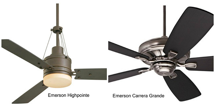 Emerson Ceiling Fan