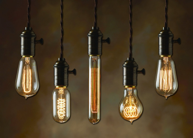Vintage Filament Bulbs from Bulbrite